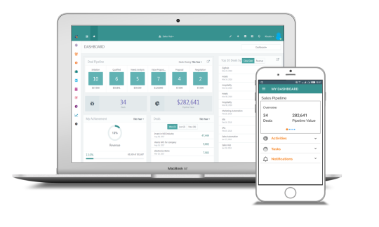 zigihub CRM - Marketing Automation | Lead Management Software